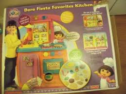 Dora The Explorer Fiesta Kitchen Set by Dora The Explorer Super Silly Fiesta Vhs 2004