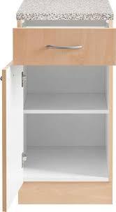 wiho küchen unterschrank kiel 40 cm breit in tiefe 60 cm