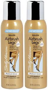 Tanning Lamps For Legs by Amazon Com Sally Hansen Airbush Sun Self Tanner For Legs Tan