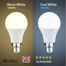 energy saving 6w 10w led bc b22 gls l light bulbs warm cool day