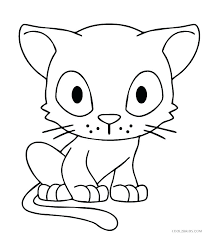 Coloring Pages Of A Cat Leprechaun Face Page E On