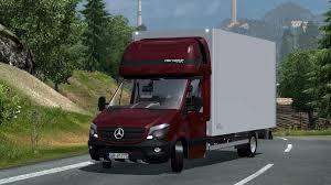 Mercedes Sprinter 2014 Izoterma V2.0 | ETS2 Mods | Euro Truck ...