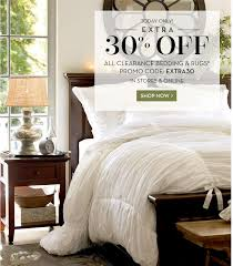Pottery Barn Today ly EXTRA  f Clearance Bedding & Rugs