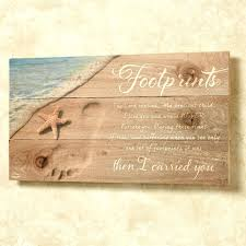 Printable: Printable Footprints In The Sand Fancy Wall Art For Your ...