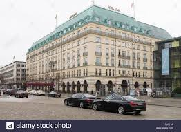 100 Hotel 26 Berlin BERLIN FEBRUARY The Adlon And German Official Vehicles In