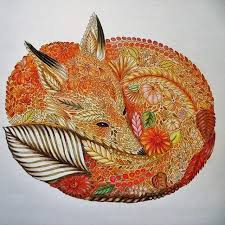 Milliemarotta Animalkingdom Coloring Derwent Derwentcoloursoft Coloringforadults Colorpencil Kolorowanie
