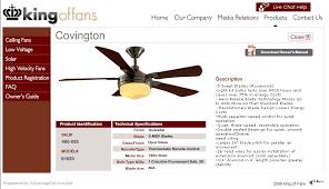 Hampton Bay Ceiling Fan Instructions by Hampton Bay Covington 54