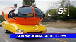 100 Oscar Meyer Weiner Truck Mayer Is Hiring Wienermobile Driver Fox17