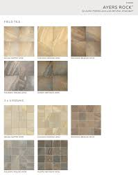ayers rock golden ground mosaic 3 x 3 on 13 1 8 x 13 1 8