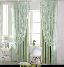 Purple Waterfall Ruffle Curtains by Decorating Theme Bedrooms Maries Manor Window Treatments