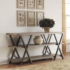 Magnificent DIY Console Table With Remodelaholic Diy Double X