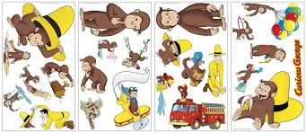 RoomMates Curious George Peel & Stick Applique - I Think These ... Curious George And The Firefighters By Iread With Not Just A This Is He Was Good Little Monkey Always Very Fire Truck Fabric Celebrate With Cake Sculpted Fireman Sam What To Read Wednesday Firefighter Books For Kids Coloring Pages For 365 Great Childrens Birthday Party Wearing Hat Curious Orge Coloring Pages R Pinterest Paiting Full Cartoon Game 2015 Printable