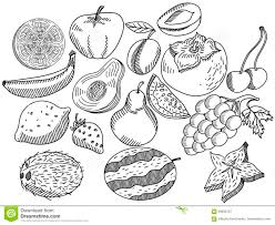 Ideas Collection Coloring Book For Fruits On Letter