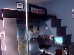 build a bunk bed with desk home design ideas
