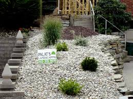 Small Backyard Landscaping Ideas Rocks Rock For The Lava Front ... Outdoor Living Cute Rock Garden Design Idea Creative Best 20 River Landscaping Ideas On Pinterest With Lava Fleagorcom Natural Landscape On A Sloped And Wooded Backyard Backyards Small Under Front Window Yard Plans For Of 25 Rock Landscaping Ideas Diy Using Stones Interior 41 Stunning Pictures Startling Gardens