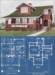 Craftsman Style Floor Plans Bungalow by 1921 Modern Bungalow Type House Bungalow Vintage Pinterest