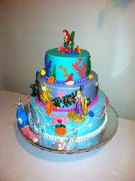 Disney Princess Cake Arial Rapunzel And Cinderella Bc Icing With