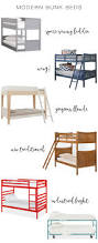 Pottery Barn Desks Used by Bunk Beds Loft Bed Ikea Callum Platform Full Over Full Bunk Bed