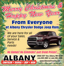 Merry Christmas & Happy New Year, Albany Chrysler Center Inc, Albany, MN 2007 Chevrolet Silverado 2500hd Ltz Ext Cab 4wd Stock 18138 For 2012 Gmc Sierra Work Truck Long Box 17026 Albany Sales Queensbury Ny Home Facebook Amsterdam Used Vehicles Sale South Commercial Auto Diesel Pickups Or Dealer Car Dealership Goldstein Buick Tsi Ford Corydon In New Jeffersonville Shakerley Fire Vrs Ltd Dealers Depaula Cars Trucks Access 2019 Mack Pinnacle Chu613 For In York Truckpapercom