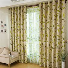 leaf in lime green curtains living room curtains