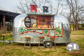 Airstream Mobile Bar Rental For Weddings & Events L Silvercloud