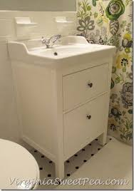 Ikea Bathroom Vanities 60 Inch by Hemnes Rttviken Sink Cabinet With 2 Drawers White Ikea Bathroom