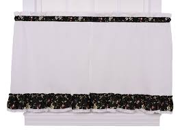 Jcpenney Curtains And Valances by Amazon Com Ellis Curtain Kitchen Collection Cherries Lined Tie Up
