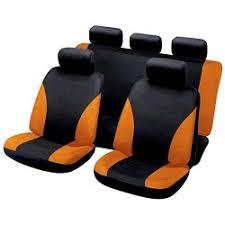 housse siege auto housse siège auto universelle orange et noir my housse 19 90