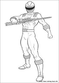Power Ranger Printable Coloring Pages 11 Rangers On