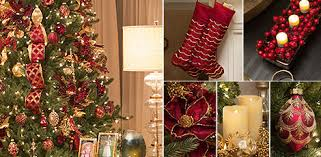 Brilliant Bordeaux Living Room Create A Nostalgic Christmas Scene That Echoes Classic Holiday Celebration With The Majestic Colors Of Burgundy And Gold