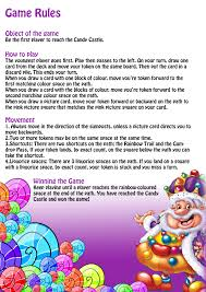 Game Rules Of Candy Land