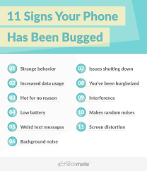 Signs your phone is bugged