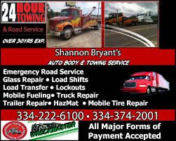 Shannon Bryant Auto Body & Towing Service | Go Trucker Truck Tires Mobile Tire Servequickfixtires Shopinriorwhitepu2trlogojpg Repair Or Replace 24 Hour Service And Colorado Springs World Auto Centers Dtown Co Side Collision Wrecktify Dump Truck Tire Repair Motor1com Photos And Trailer Semi In Branick Ef Air Powered Full Circle Spreader 900102 All Pasngcartireservice1024x768jpg Southern Fleet Llc 247