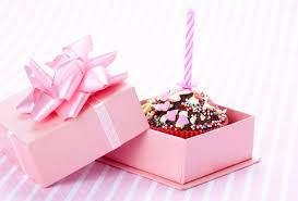Wallpaper birthday candle box cupcake bow desktop wallpaper