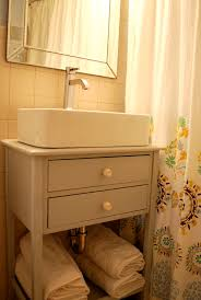 Diy Bathroom Vanity Tower by Out With The Bathroom Sink Vessel Sink Pedestal Sink And Sinks
