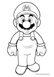 Jimbos Coloring Pages More Super Mario Design Kids