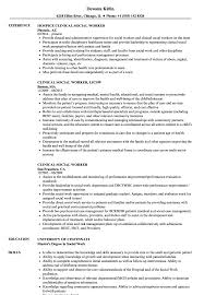 Clinical Social Worker Resume Samples | Velvet Jobs Cover Letter Social Work Examples Worker Resume Rumes Samples Professional Resume Template Luxury Social Rsum New How To Write A Perfect Included Service Aged Services Worker Magdaleneprojectorg Skills 25 Fresh Image Of Templates News For Sample Format It Valid