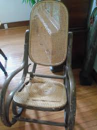 Shelly's Vintage Blog: Pressed Cane Repair Of Old Rocking Chair