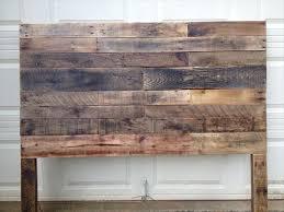 Charming Rustic King Headboard Diy Pallet Size Furniture Zelf Maken