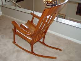 Sam Maloof And Hal Taylor Inspired Rocking Chair. Shown Made ...