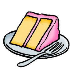 Elegant Slice Cake Clipart Cake Slice Colored by Snowshi Deviantart