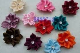 Get Ations Whole Pcslot Mix Color Handmade Cm Ribbon Flower Lace Diy Cloth With