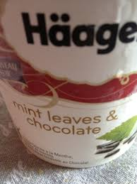 mint leaves chocolate häagen dazs le de la peste