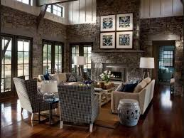 Modern Rustic Living Room Home Interior Design