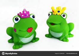 100 King Of The Frogs Queen Freed White Background Stock Photo Zeralein99