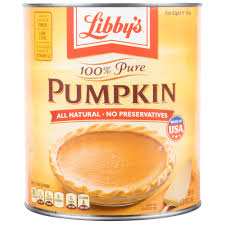 Libbys Pumpkin Pie Mix Ingredients by Libby U0027s 100 Pure Canned Pumpkin 10 Can 6 Case