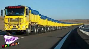 The Largest Truck In The World 2015 - YouTube