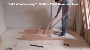 diy lounge chair get 16 000 woodworking plans youtube