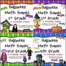 Free Halloween Brain Teasers Printable by Fun Games 4 Learning Halloween Math Fun