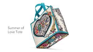 brighton handbags summer of love tote youtube